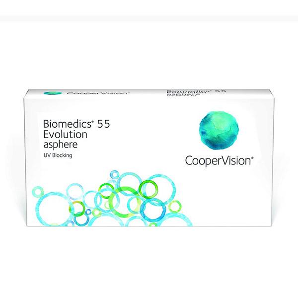 Biomedics 55 Evolution asphere